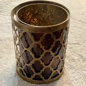 New! Candle holder/canister